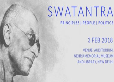 Swatantra Conference by Centre for Civil Society & Nehru Memorial Museum [Delhi, Feb 3]: Registrations Open