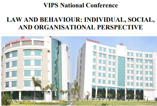 VIPS Delhi conference Law Behaviour