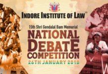 indore institute of law debate