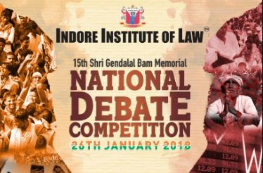 indore institute of law debate