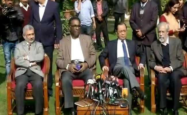 READ: Letter of the 4 Supreme Court Judges to CJI Deepak Misra + Press Conference Links