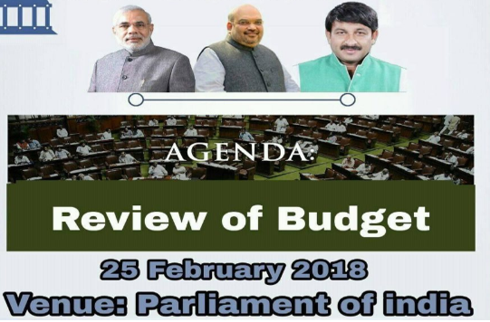 Delhi Mock Parliament Review Budget 2018