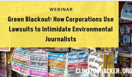 Green Blackout SLAPPs Webinar