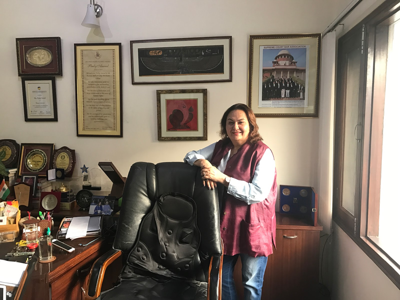 INTERVIEW: Pinky Anand on Harvard, Inlaks, Trial Courts and Success [By Manushi Desai]