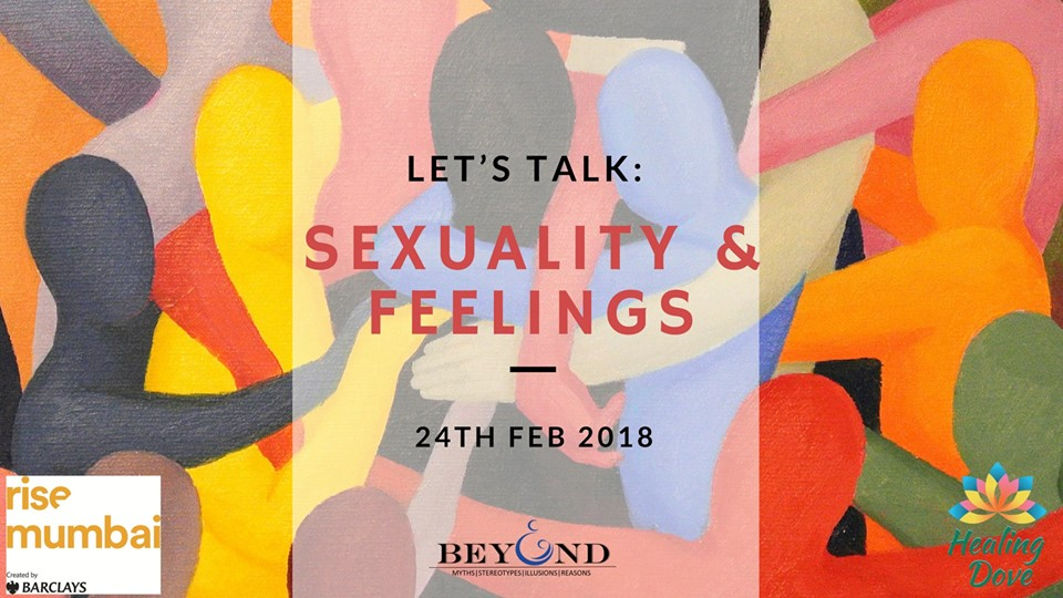Seminar on Feelings and Sexuality by Healing Dove Foundation [Feb 24, Mumbai]: No Fee; Registrations Open