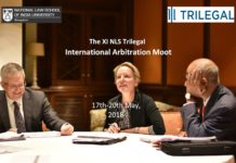 NLSIU Bangalore ilegal Arbitration Moot