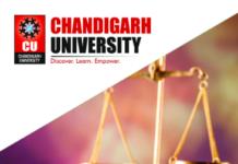 Chandigarh university Cooperative Federalism seminar