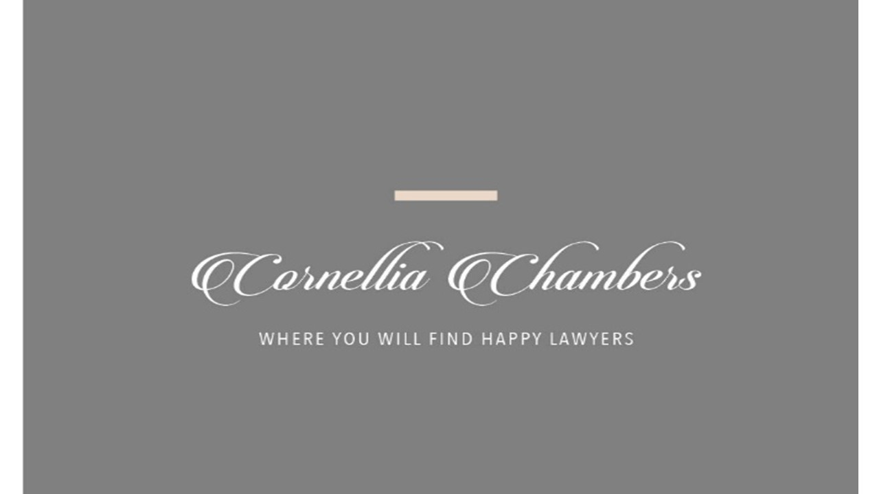 Cornellia Chambers Gurgaon Lawyer Job
