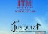 ITM University Gwalior Legal Quiz 2018
