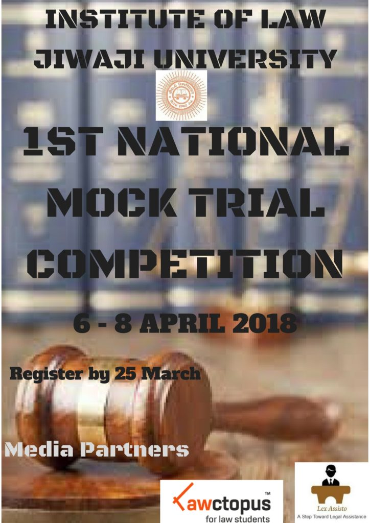 JIWAJI UNIVERSITY Moot