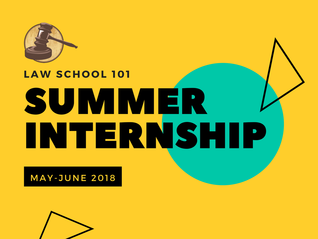 Internship Opportunity @ Law School 101, Hyderabad [May 2- June 9]: Stipend Rs. 10K; Apply by April 10