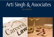 Arti Singh Associates Delhi internship