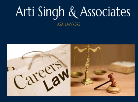 Arti Singh Associates Delhi internship