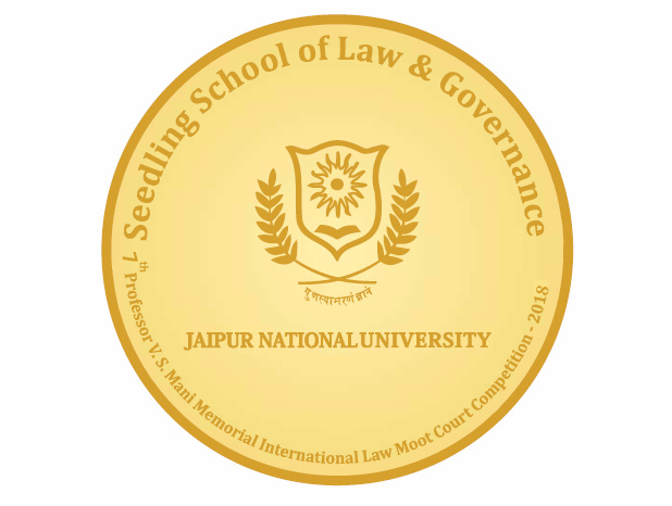 7th Prof. V.S. Mani Memorial International Law Moot @ Jaipur National University [Oct 5-7]: Results Announced