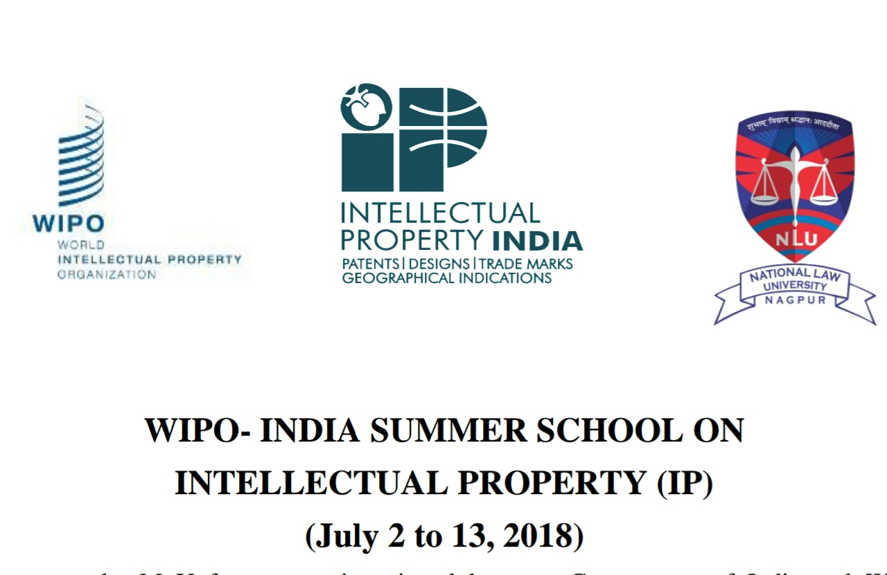 WIPO india IP Summer school Nagpur 2018