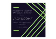 Dehradun Law College Debate Contest Vagyuddha