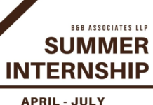 B&B Associates Internship Chandigarh Noida