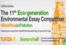 Eco-generation environmental essay competition 2018