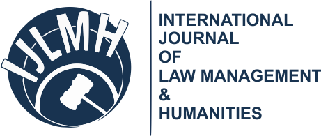 International journal of Law Management and Humanities Vol 1 Issue 5
