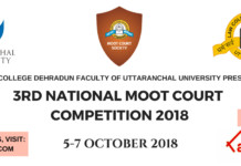 Law College Dehradun Moot Live Blog streaming