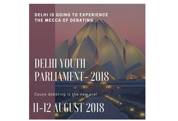 Delhi Youth parliament 2018