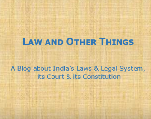 Law and other things blog