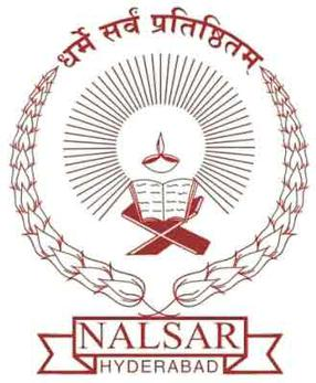 NALSAR Integrated LLM PhD Admission 2019