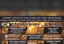 Envision 2k18 HP UILS Legal Fest