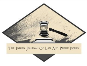 Call for Blogs: Indian Journal of Law and Public Policy [IJLPP]: No Publication Fee, Rolling Submissions