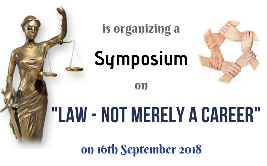 Symposium Law not merely a career Noida