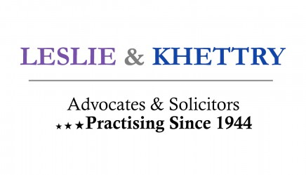 Internship Opportunity @ Leslie & Khettry, Law Firm [Work from Home, Jan-Mar]: Applications Closed