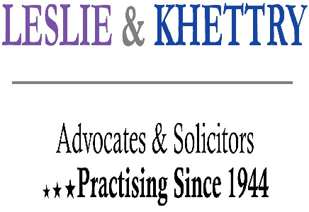 Leslie Khettry Law Firm internship