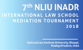 NLIU INADR Mediation Tournament Bhopal