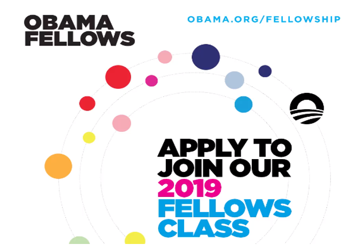 Obama Foundation Fellowship 2019