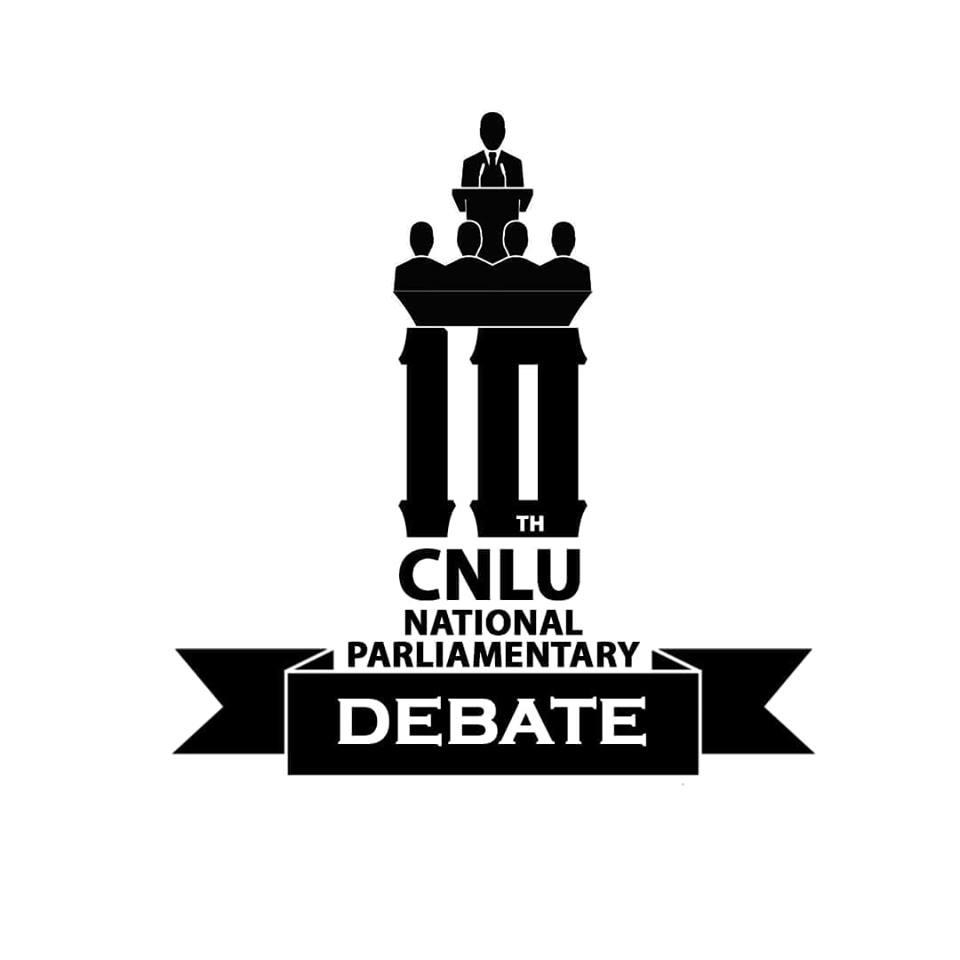 CNLU Patna Parliamentary Debate 2018