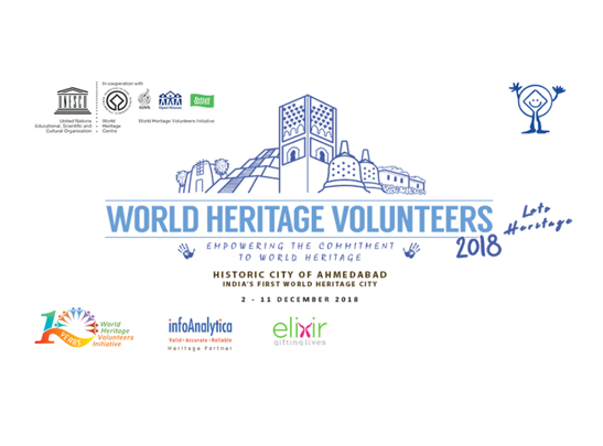 UNESCO World Heritage Volunteers Ahmedabad