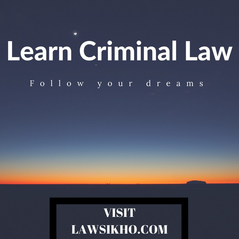 criminal law course