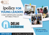 Public policy course in Delhi by CCS