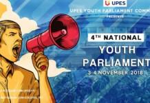 UPES Dehradun Youth Parliament 2018
