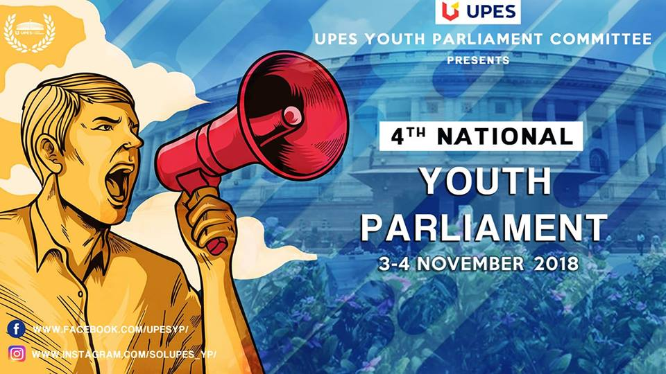 UPES Dehradun Youth Parliament 2018