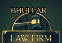 Bhullar LAw Firm Delhi internship