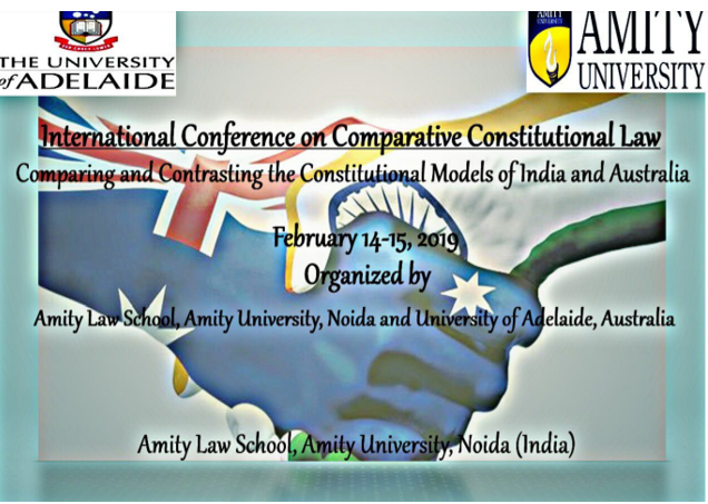 Conference comparative constitutional law Amity Noida