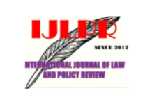 International Journal of Law and Policy Review Vol 8 No 1