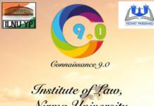 ILNU Ahmedabad Literary debating Fest Connaissance 9.0