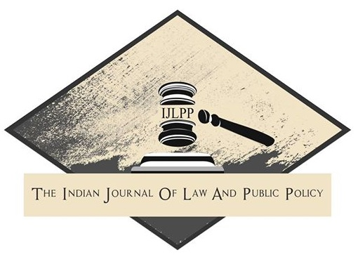 Indian journal of law and public policy Blog posts