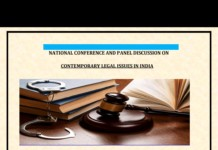 NIMT Noida conference contemporary legal issues