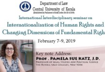 Seminar Internationalization Human Rights Kerala