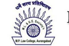 National Research Article Writing Competition @ M. P. Law College, Aurangabad: Submit by Nov 20