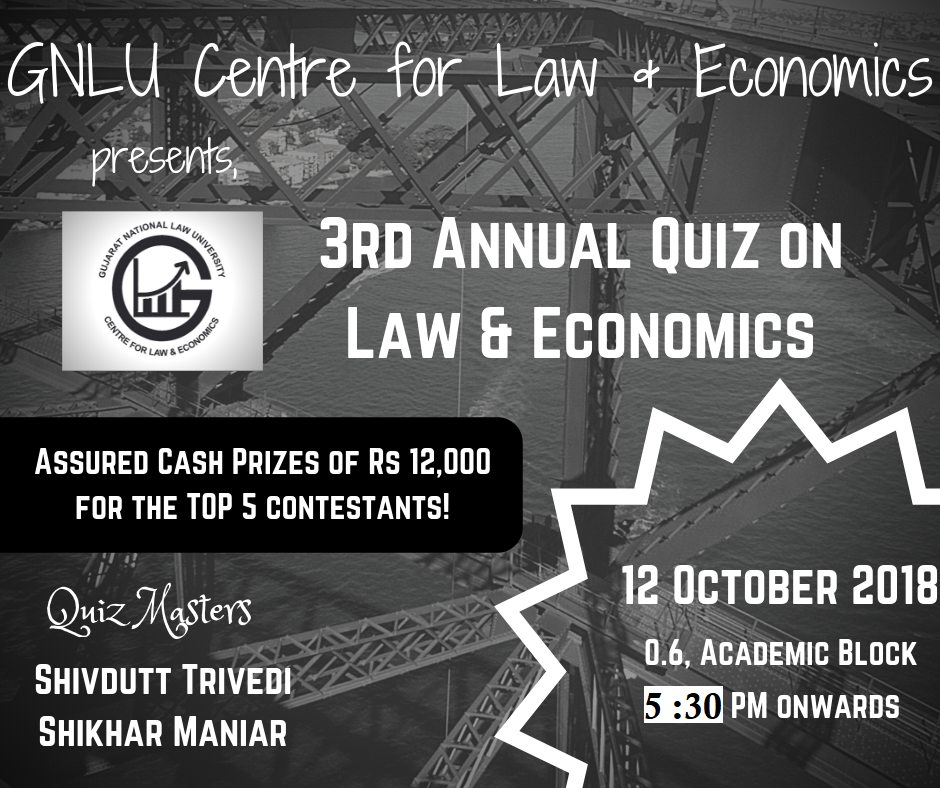 GNLU Quiz Law Economics