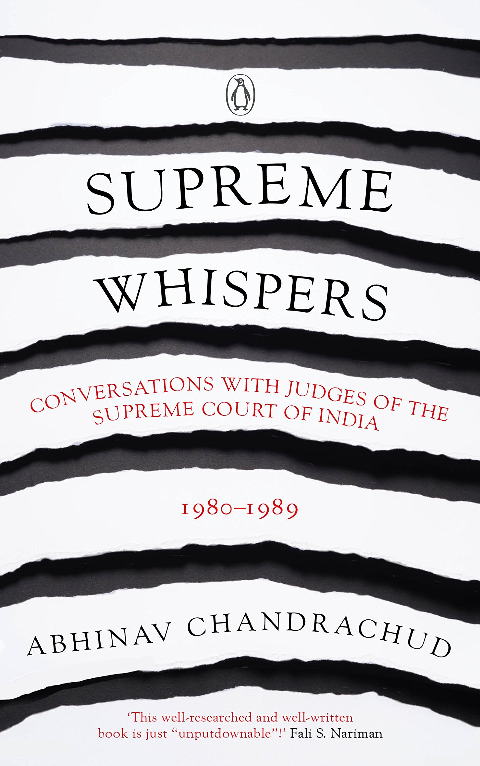 Book Review: 'Supreme Whispers: Supreme Court Judges, 1980-90' by Abhinav Chandrachud